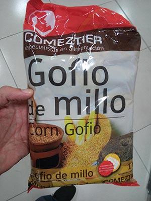 gofio comeztier millo
