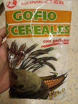 gofio comeztier ocho cereales con garbanzos