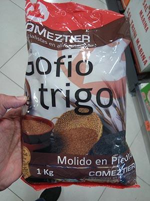 gofio comeztier trigo