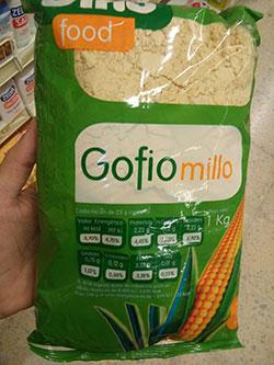 gofio dinofood millo