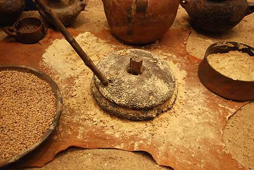 Molino de piedra para el gofio